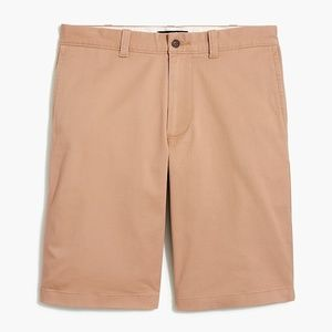 "J. Crew Mercantile 11"" Rivington flex chino short"